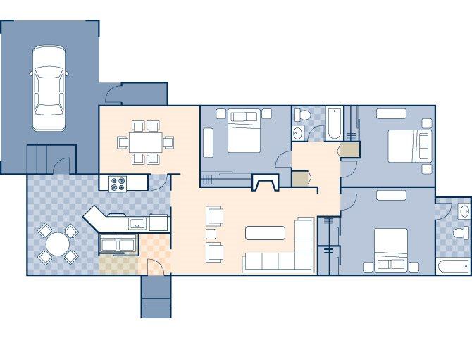 River Oaks 1465 Floor Plan 3
