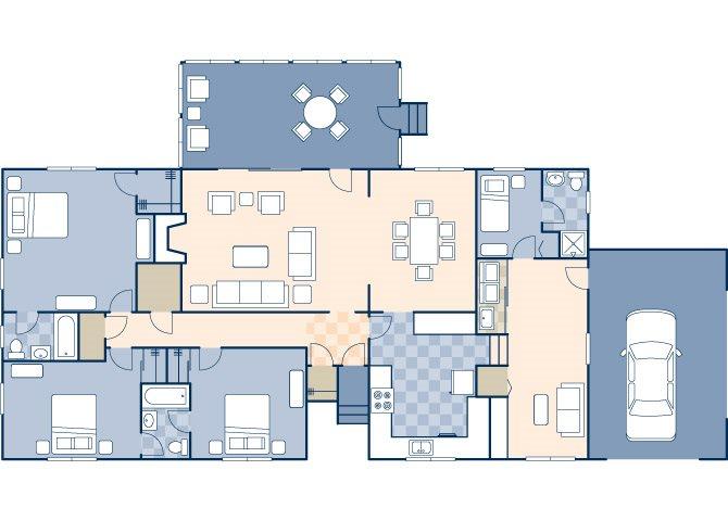 River Oaks 1845 Floor Plan 11