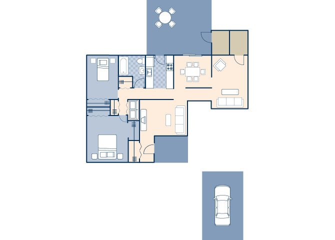 Nimitz 1100 Floor Plan 7