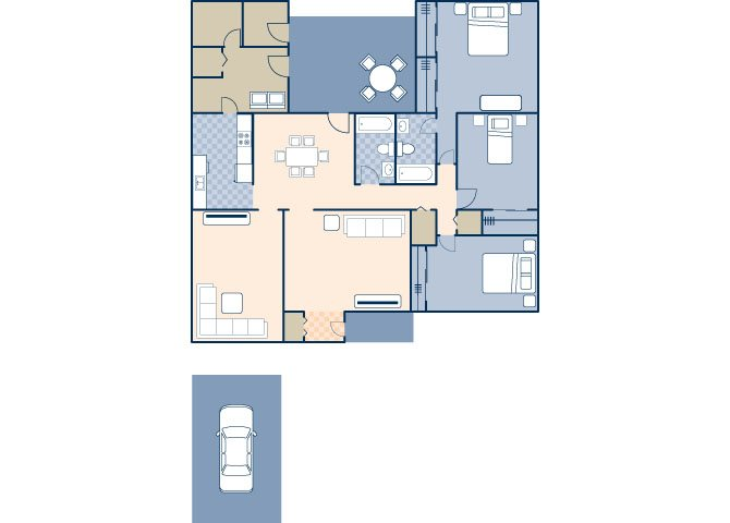 Nimitz 1340 Floor Plan 9