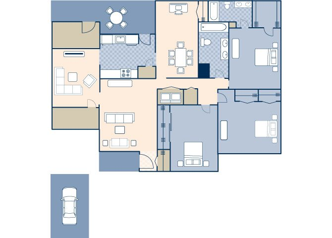 Nimitz 1384 Floor Plan 11