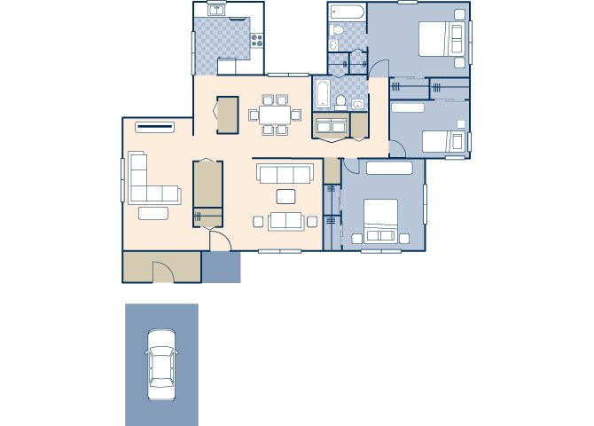 Nimitz 1411 Floor Plan 12