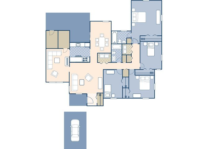 Nimitz 1421 Floor Plan 15