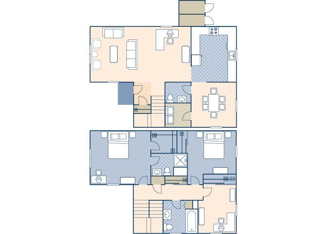 Townhouse Area 1194 Floor Plan 16