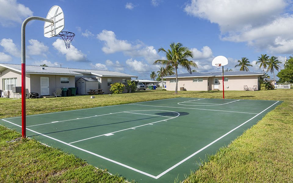Sigsbee Park basketball court