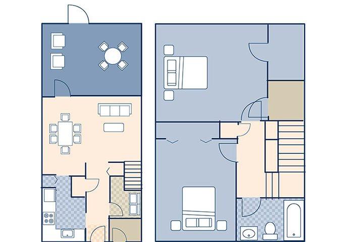 Sigsbee Park 1011 Floor Plan 1