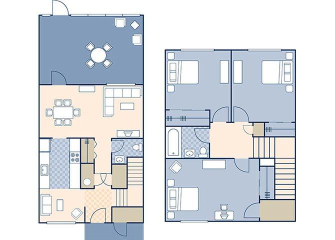 Sigsbee Park 1170 Floor Plan 2