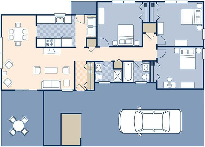 Sigsbee Park 1067 Floor Plan 3