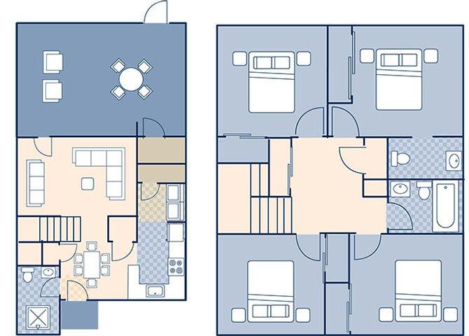 Sigsbee Park 1370 Floor Plan 4