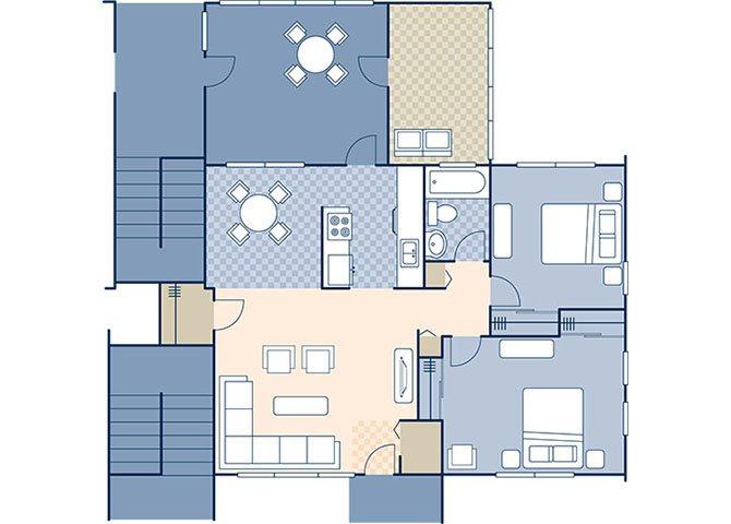 Truman Annex 866 Floor Plan 6