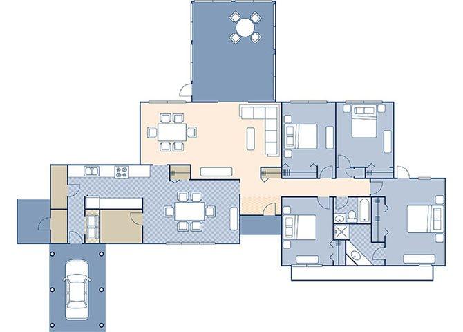 Truman Annex 1880 Floor Plan 10