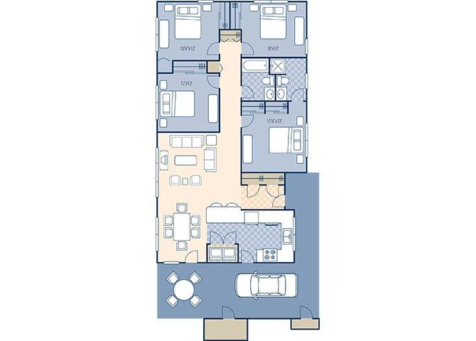 Pine Crest 1369 Floor Plan 13