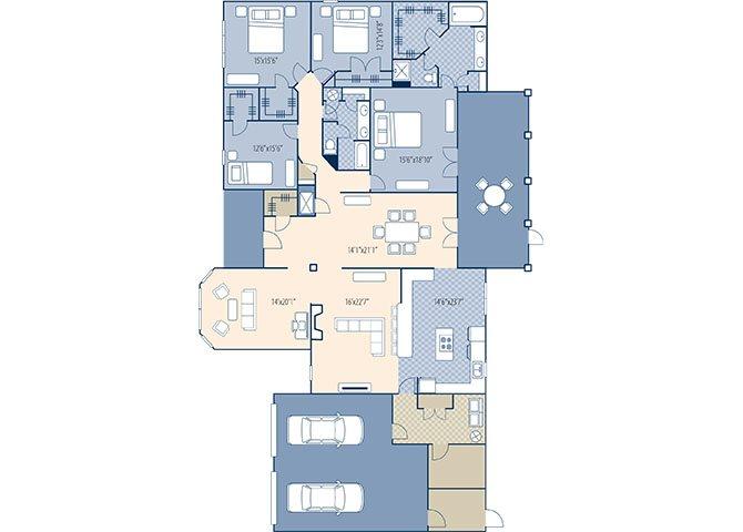Juniper Ridge 3400 Floor Plan 8