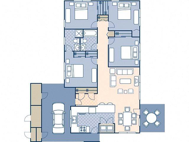 Pine Crest 1396 Floor Plan 14