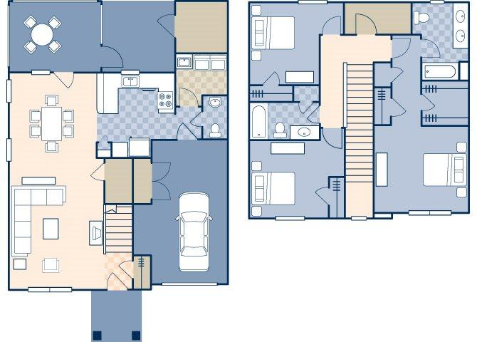 Andrew Jackson Court 1700 Floor Plan 1