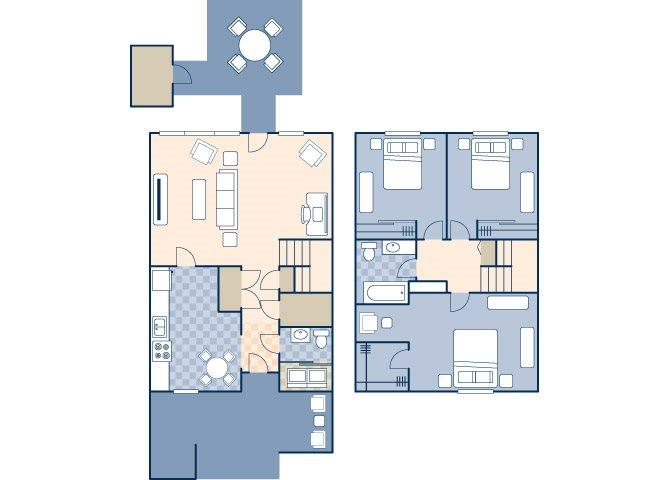 Lighthouse Terrace 1210 B Floor Plan 22