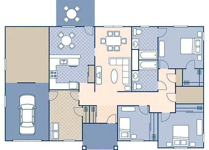 Magnolia I 1198 Floor Plan 3