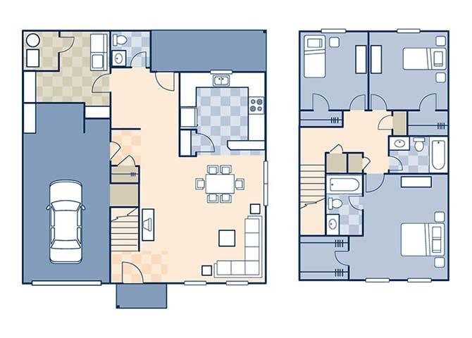 Magnolia II 1571 Floor Plan 6