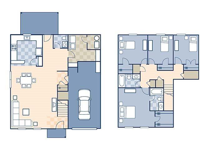Magnolia II 1887 B Floor Plan 10