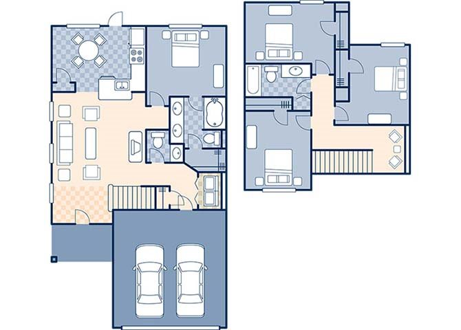 Nickel Creek Worthington Floor Plan 16