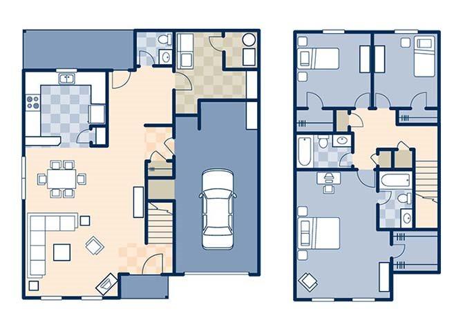 Woodlands I 1688 Floor Plan 24
