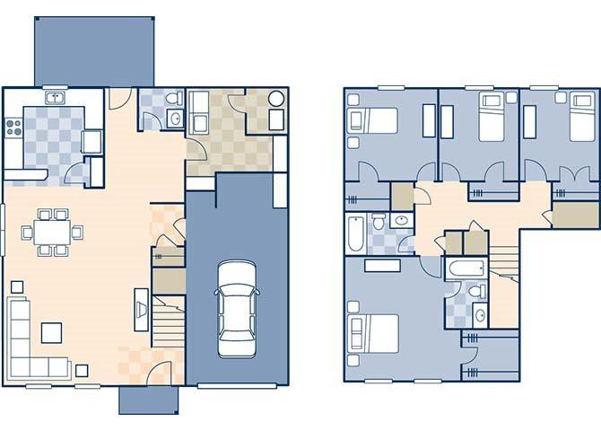 Woodlands II 1887 B Floor Plan 34