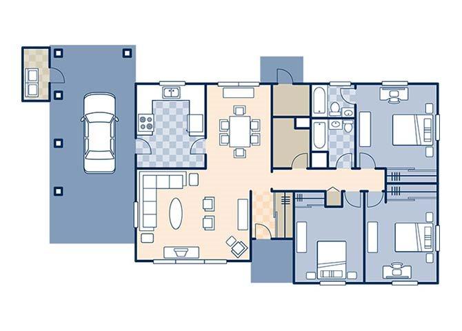 Green Drive 1264 Floor Plan 3