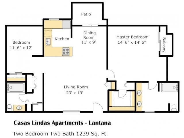 Lantana Floor Plan 3