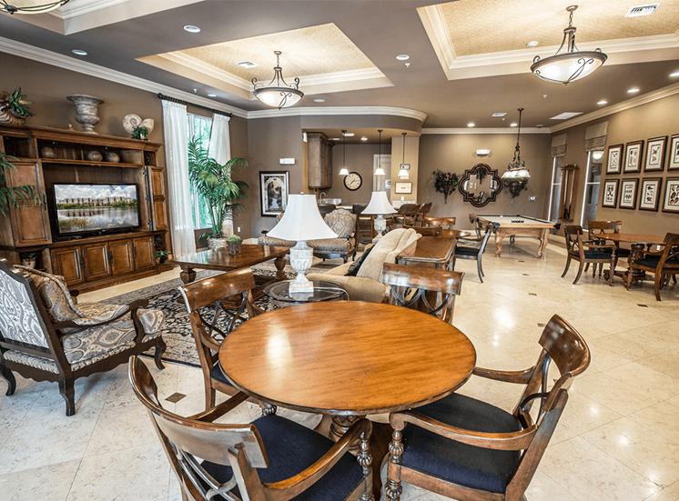 Vizcaya Lakes apartments clubhouse in Boynton Beach, Florida