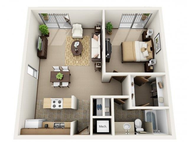 Elm Floor Plan 1