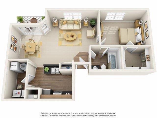 Maple Floor Plan 2