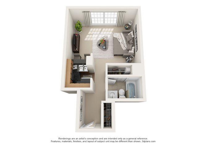 Dijon - Oakbrook Floor Plan 1