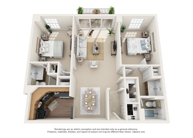 Marsailles -  North Floor Plan 11