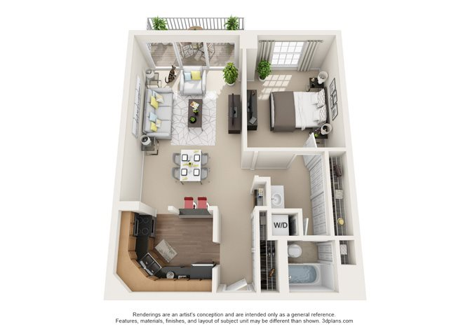 Toulon - Oakbrook Floor Plan 3