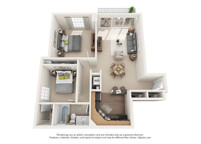 Chaumont  -  West Floor Plan 11