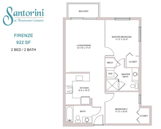 Santorini at Renaissance Commons | One and Two Bedroom ...