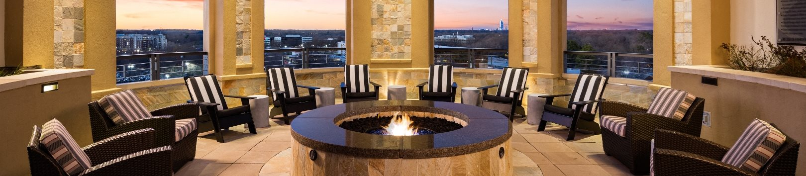 Beautiful Views at The Residence at South Park Apartments in Charlotte, North Carolina