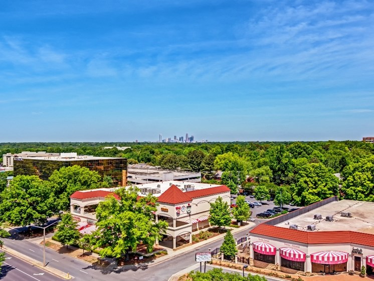 Views at The Residence at South Park Apartments in Charlotte, North Carolina
