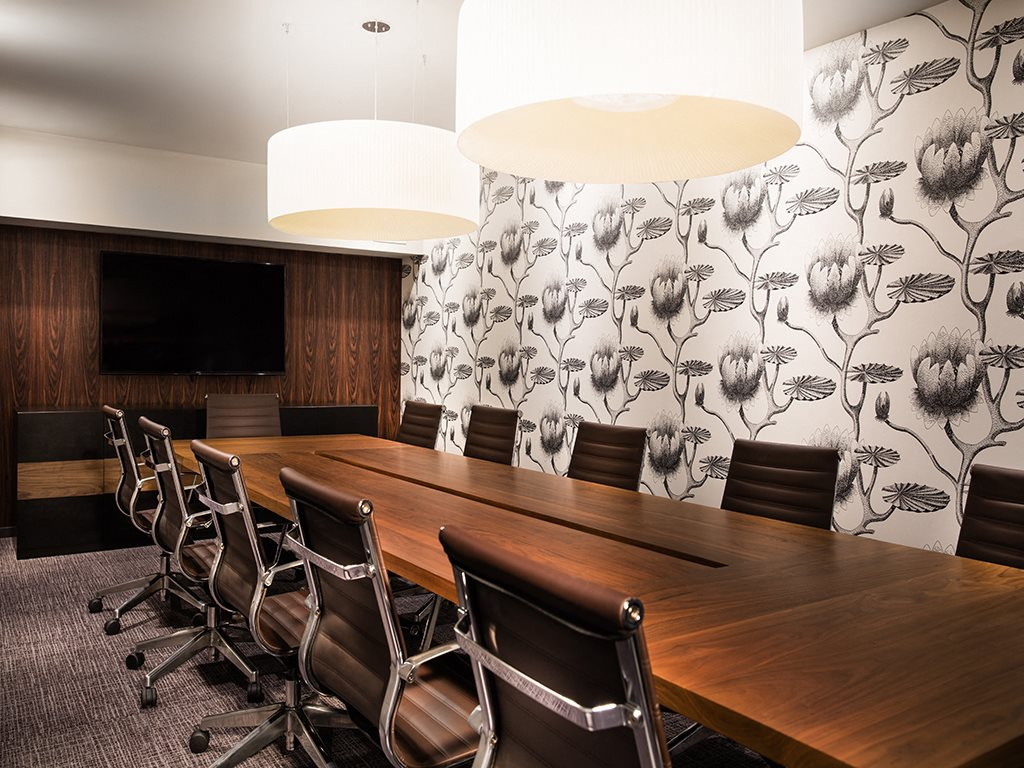 Conference Room at Grey House Apartments in Houston, Texas