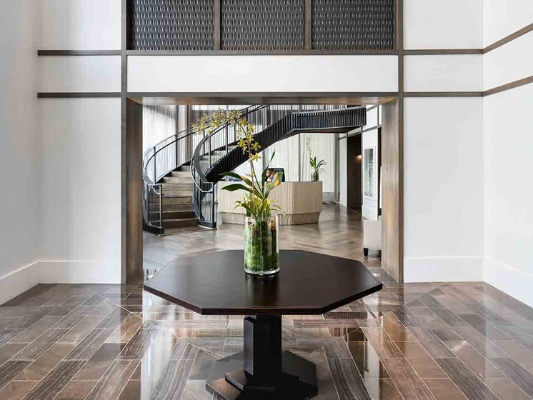 Contemporary Interior Design at Grey House Apartments in Houston, Texas