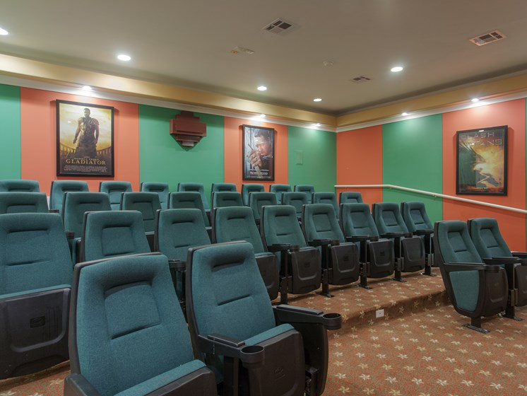 Surround Sound Theater at Villas at Stone Oak Ranch, Austin, TX, 78727