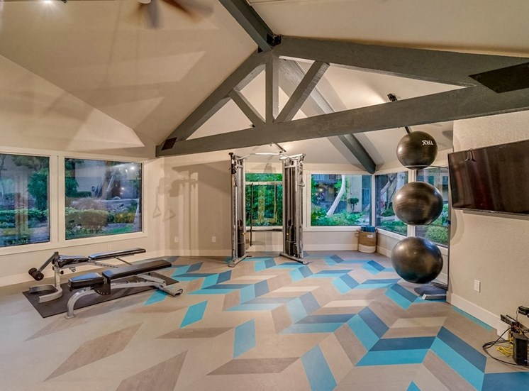Flex Rooms with Yoga And Spin at The Trails at San Dimas, California, 91773