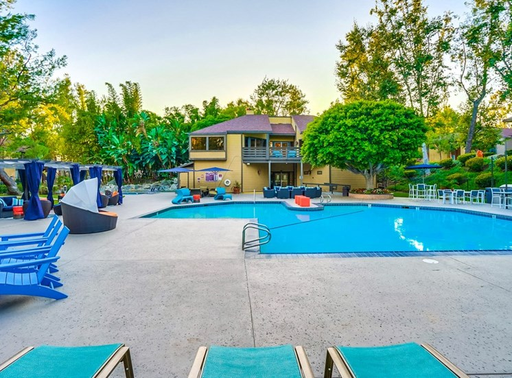 Pool with Sunning Deck at The Trails at San Dimas, San Dimas, CA 91773