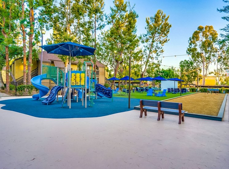 Ample and Open Play Area at The Trails at San Dimas, California, 91773