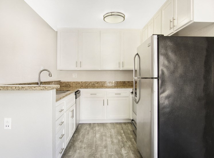 White Cabinetry In Kitchen at The Trails at San Dimas, San Dimas, CA
