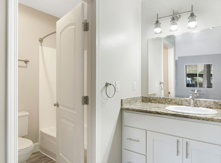 Renovated Bathrooms with Quartz Counters at The Trails at San Dimas, CA, 91773