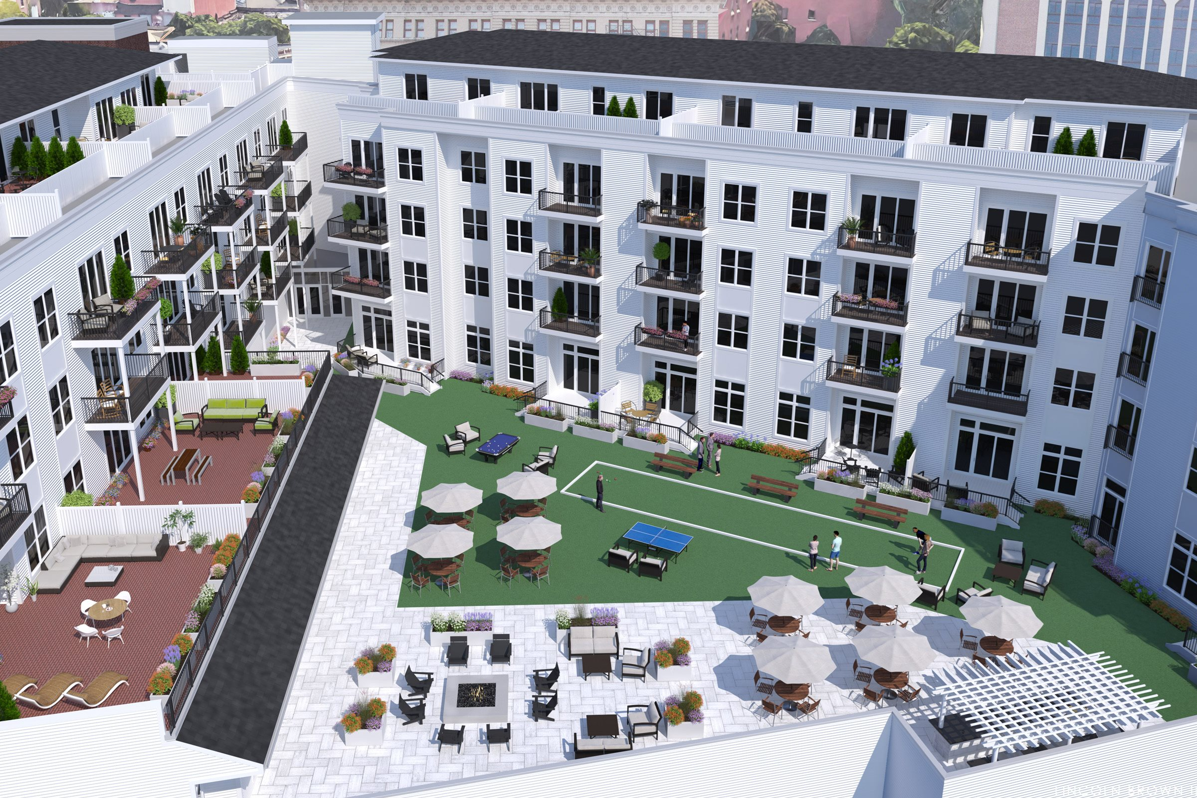 Electric City Rooftop Amenities