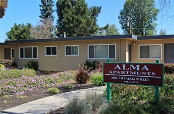 3307 Alma Street Studio-2 Beds Apartment for Rent Photo Gallery 1