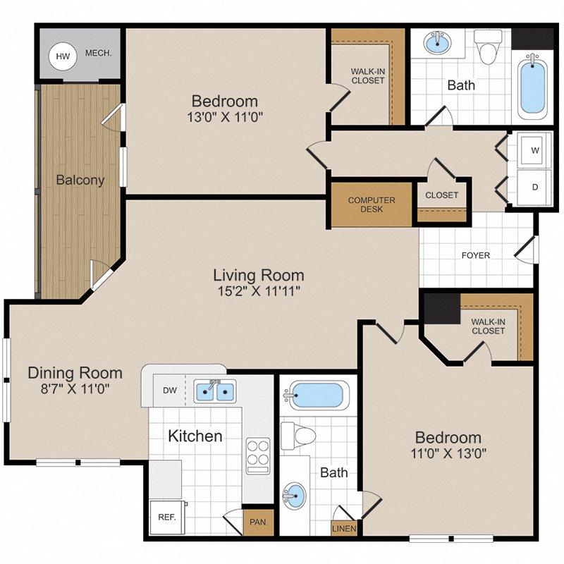 Shenandoah 2 Floor Plan 6