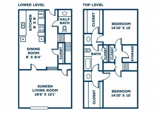 The Hickory Floor Plan 6
